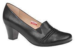 Czółenka na obcasie buty AXEL Comfort C647 Czarne