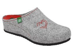 Kapcie Dr BRINKMANN 330193-91 Popielate Pantofle domowe Ciapy