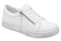 Komfortowe Sneakersy MANITU 850440-3 Białe