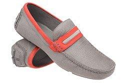 Mokasyny buty wsuwane BADURA 3083 Popielate