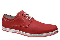 Półbuty KRISBUT 4784A-5-9 Czerwone Sneakersy