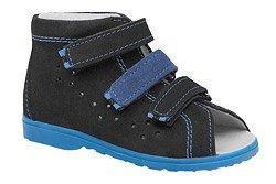Sandałki Profilaktyczne Ortopedyczne Buty DAWID 1041 Czarne CZN L20