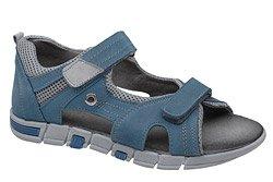Sandałki dla chłopca KORNECKI 5200 Niebieskie
