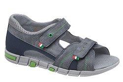 Sandałki dla chłopca KORNECKI 6337 Granatowe L20