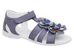 Sandałki dla dziewczynki KORNECKI 4967 Śliwkowe