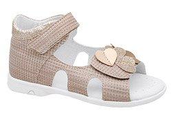 Sandałki dla dziewczynki KORNECKI 6557 Beżowe