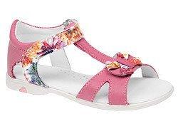 Sandałki dla dziewczynki skóra KORNECKI 3984