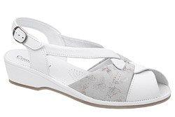 Sandały COMFORTABEL 710033-81 Białe