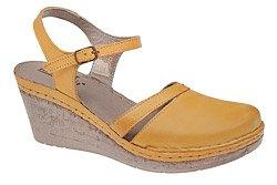 Sandały MANITU 920206-6 Żółte