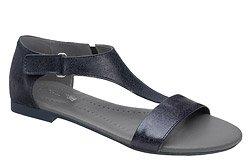 Sandały damskie VERONII 5007 Granatowe L19