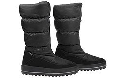 Śniegowce MANITU 991176-1 Czarne Polar-Tex