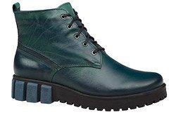 Trzewiki buty zimowe KACPER 4-5348-304 Zielone