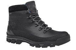 Trzewiki trekkingowe BADURA 4618-698 Czarne