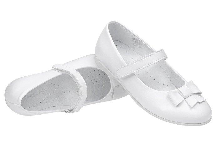 Balerinki buty komunijne KORNECKI 6097 Białe