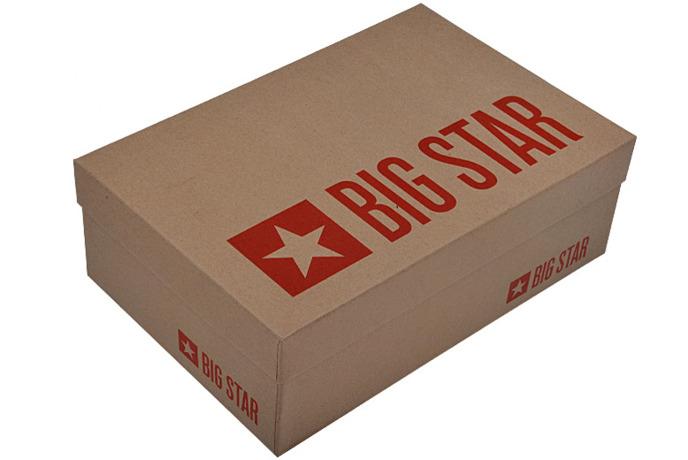 Czółenka Szpilki BIG STAR U274208 Czarne