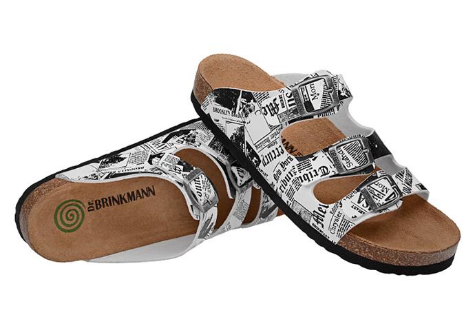 Klapki Dr Brinkmann 700804-3 Gazeta