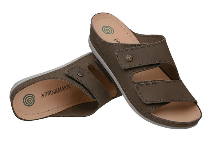 Klapki Dr Brinkmann 700935-7 Khaki