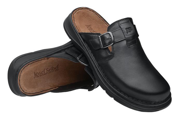 Klapki JOSEF SEIBEL 45905 Wido 05 K Czarne XXL