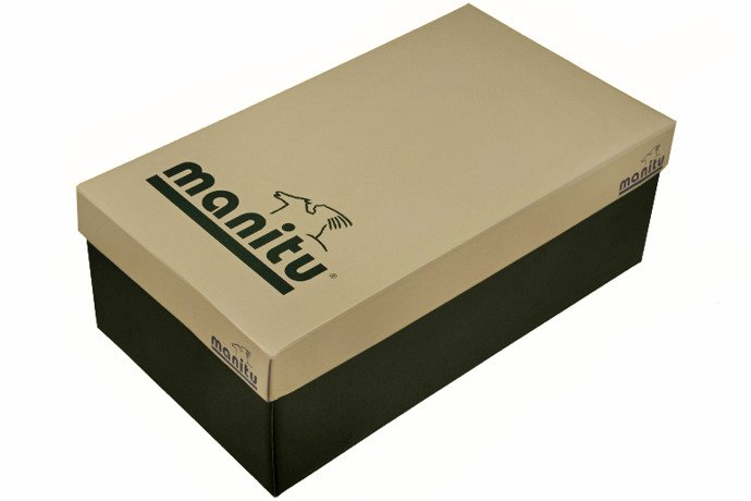 Klapki MANITU 900443-5 Niebieskie