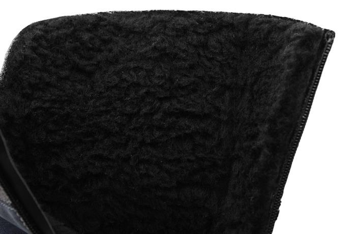Kozaczki zimowe KORNECKI 6009 Granatowe ocieplane