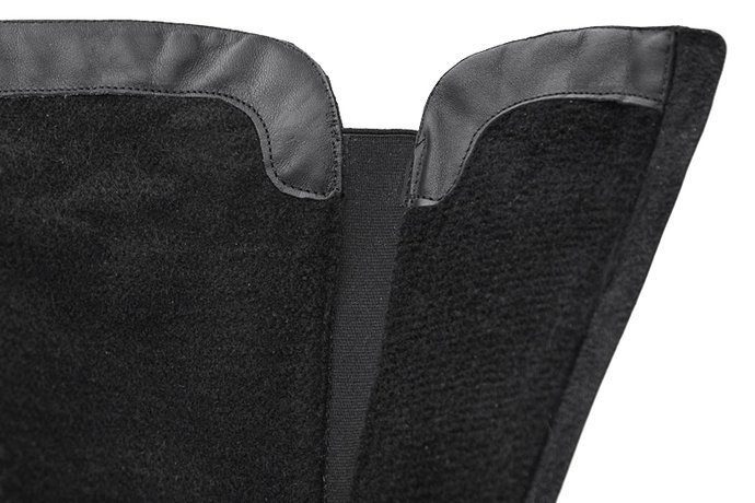 Kozaki AXEL Comfort 4354 Czarne H zimowe ocieplane
