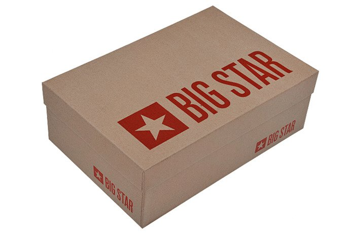 Kultowe Trampki BIG STAR U274812 Kwiatki