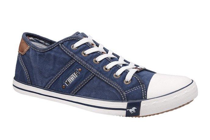 Kultowe Trampki MUSTANG 36A034 Jeans