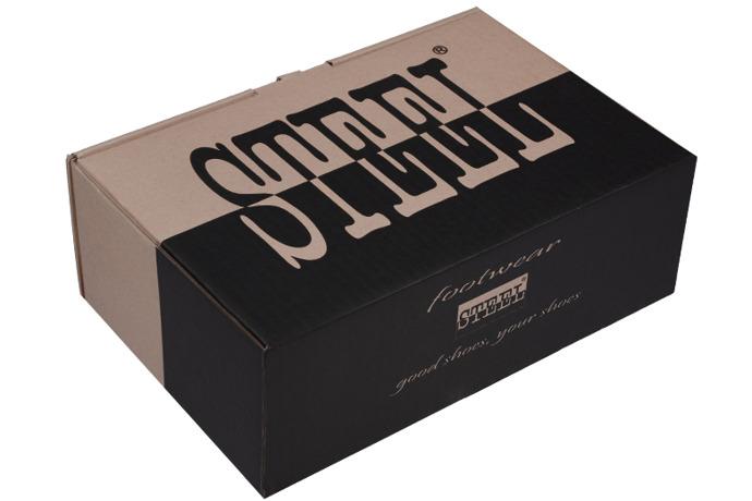Kultowe trzewiki buty STEEL 284-W10 Czarne