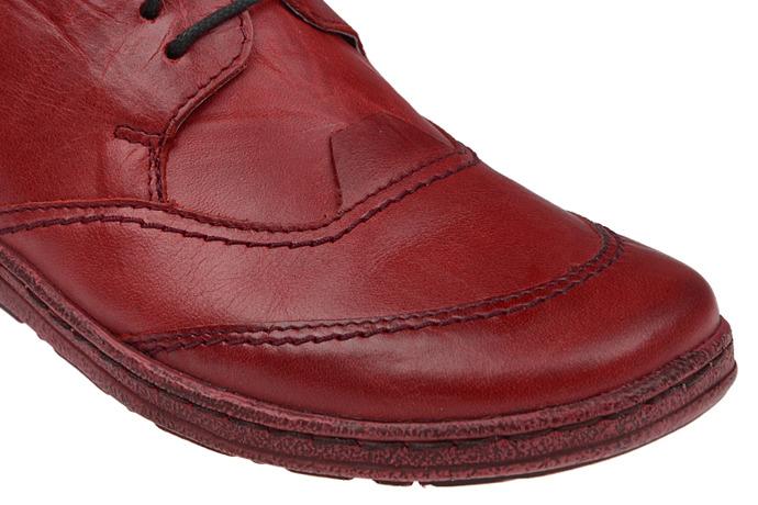 Półbuty KACPER 2-5220-729 Czerwone