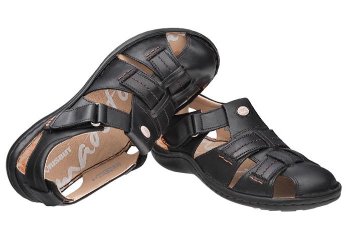 Półbuty Sandały KRISBUT 1108A-1-9 Czarne
