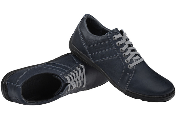Półbuty buty KACPER 1-4237-364 Granatowe