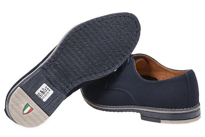 Półbuty komunijne wizytowe buty KMK 199 N Granatowe