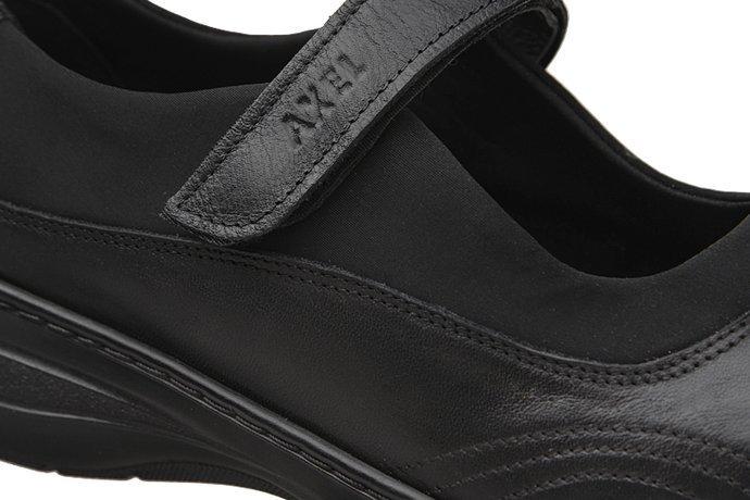 Półbuty na haluksy AXEL Comfort 1820 Czarne K