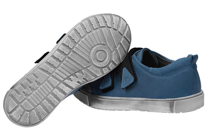 Półbuty na rzepy buty KORNECKI 3894 skórzane