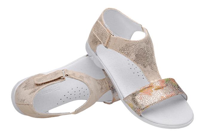 Sandałki dla dziewczynki KORNECKI 4750 Złote Multi