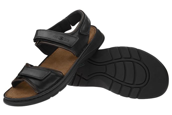 Sandały JOSEF SEIBEL 10104 Rafe Czarne XXL