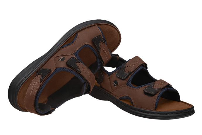 Sandały JOSEF SEIBEL 10236 Franklyn Brązowe Kombi