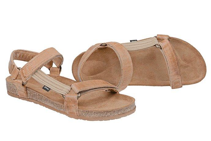 Sandały OTMĘT 405CP Beż-Brąz SCH69 NaturForm Fussbett