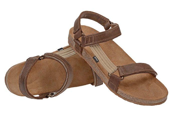 Sandały OTMĘT 405CP Brązowe NaturForm Fussbett