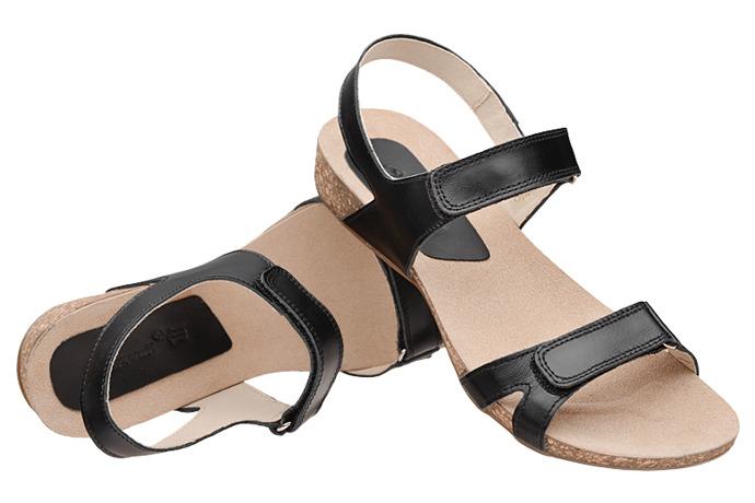 Sandały damskie VERONII 5211 Czarne
