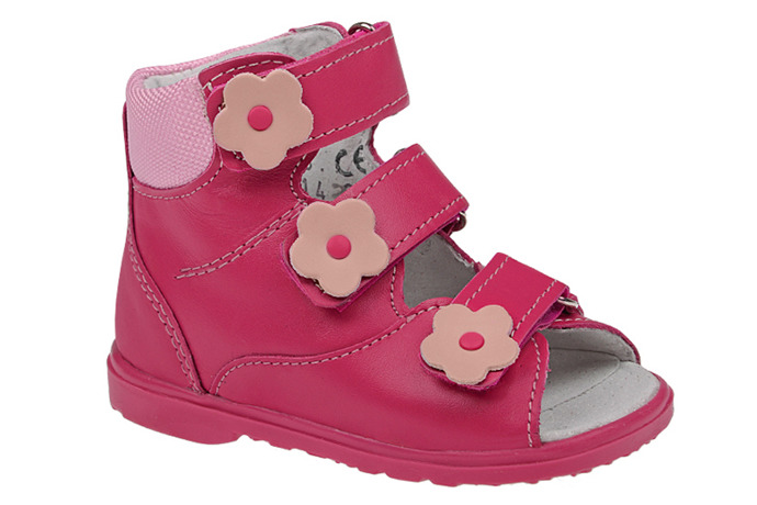 Trzewiki Profilaktyczne Ortopedyczne Buty DAWID 953-1 RC JP Różowe