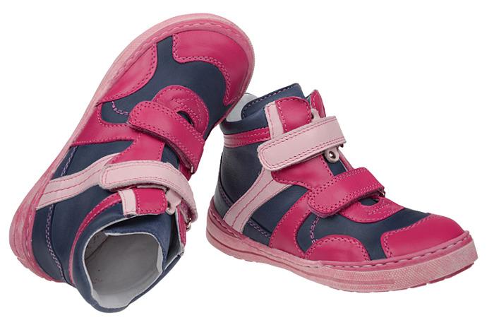 Trzewiki nieocieplane buty MIDO NOSTER 317 Róż