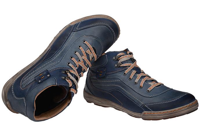 Trzewiki ocieplane KACPER 3-4251 Niebieskie