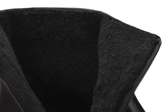 Trzewiki ocieplane Kozaki BADURA 5263-698 Czarne