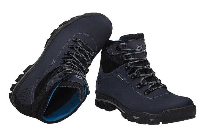 Trzewiki trekkingowe BADURA 4611-434 Granatowe