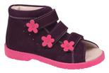 Sandałki Profilaktyczne Ortopedyczne Buty DAWID 1042 Fiolet FC