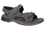 Sandały JOSEF SEIBEL 10112 Max 03 Popielate XXL